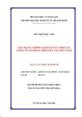 [tuoitrebentre.vn] Xây dựng chính sách cổ tức cho các công ty cổ phần niêm yết tại Việt Nam.pdf