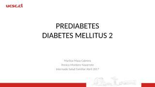 PREDIABETES Y  DIABETES.pptx