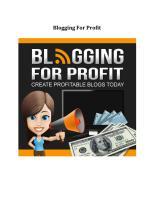 Blogging For Profit.pdf