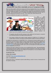 Australia Best Tutor offers remarkable services of Assignment Writing.pdf