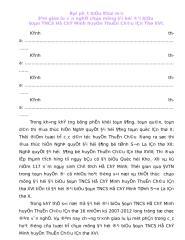 Bai Phat Bieu van nghe DAI HOI 2007.doc