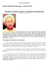 (Wafat 1339H) Syeikh 'Utsman As-Sarawaqi.pdf