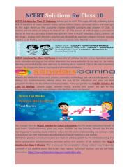 NCERT Solutions for Class 10.docx