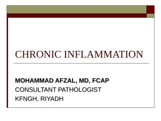 CHRONIC INFLAMMATION.ppt