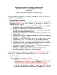 FM Services Evaluation Report-v03, 23-06 '09.doc