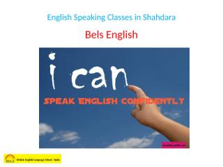 English Speaking Classes in Shahdara.pptx