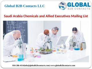 Saudi Arabia Chemicals and Allied Executives Mailing List.pptx