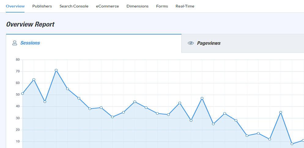 MonsterInsights: Track your Website by Google Analytics inside WordPress Dashboard 4
