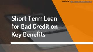 Short Term Loan for Bad Credit.pdf